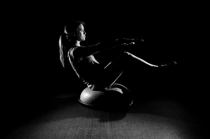 V-Tuck Bosu Ball - Mark McElroy