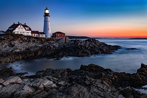 Maine Coastline Sunrise