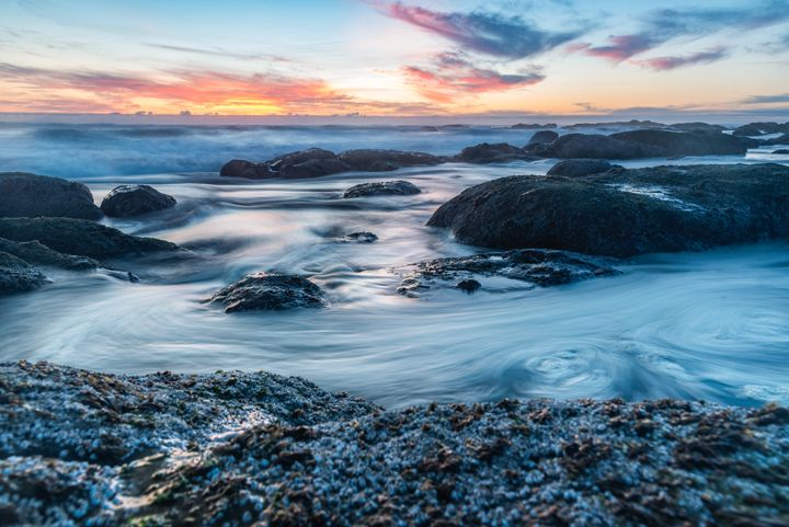 Rocky Coast Sunset - Mark McElroy