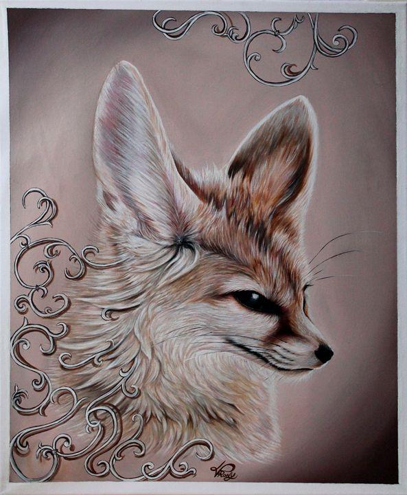 Fennec fox - V/S art