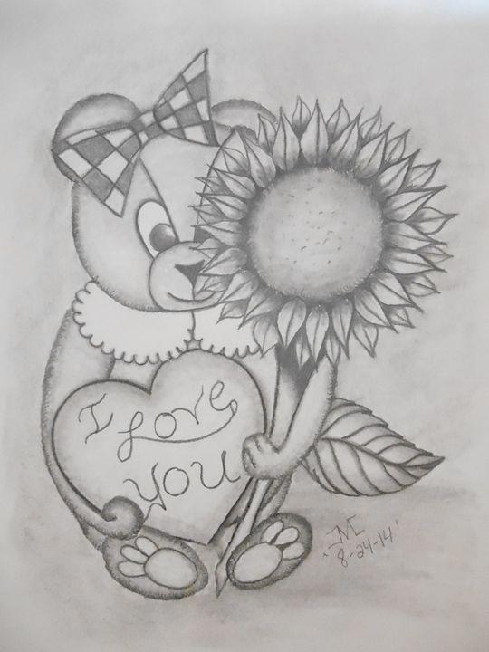 Peak-a-boo teddy bear - JMC Arts & Crafts