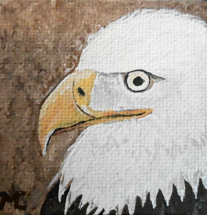 Proud Bald Eagle - JMC Arts & Crafts