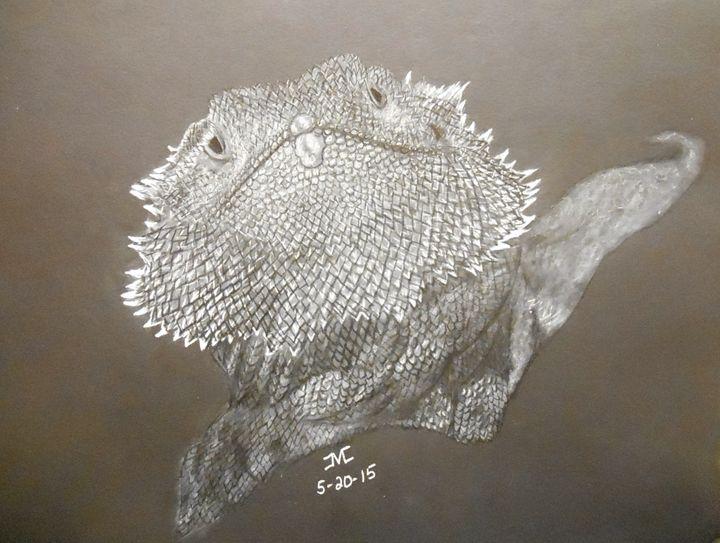 Pogo The Bearded Dragon - JMC Arts & Crafts