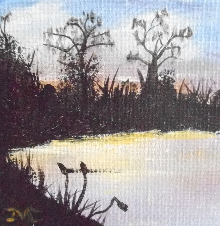 Sunset Pond - JMC Arts & Crafts