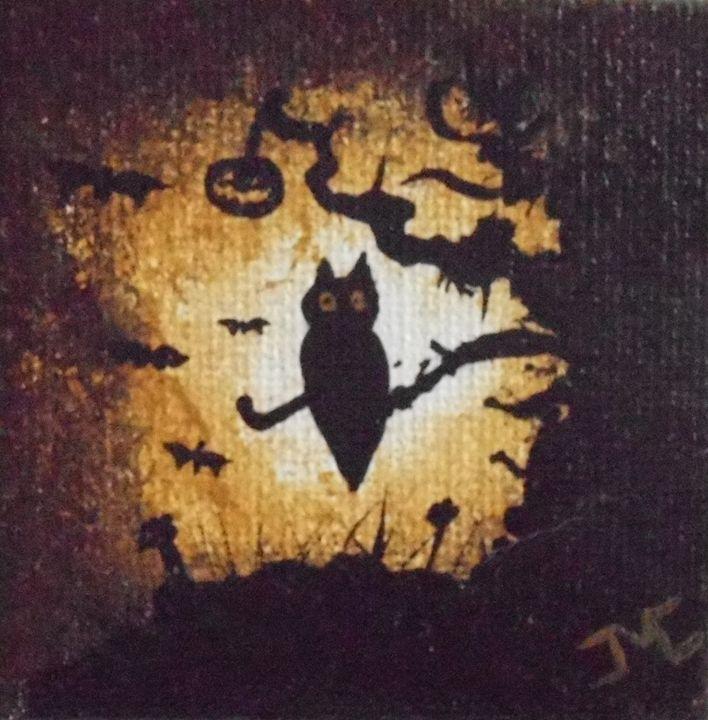 Hootie Halloween - JMC Arts & Crafts