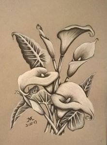 Calla Lilies - JMC Arts & Crafts