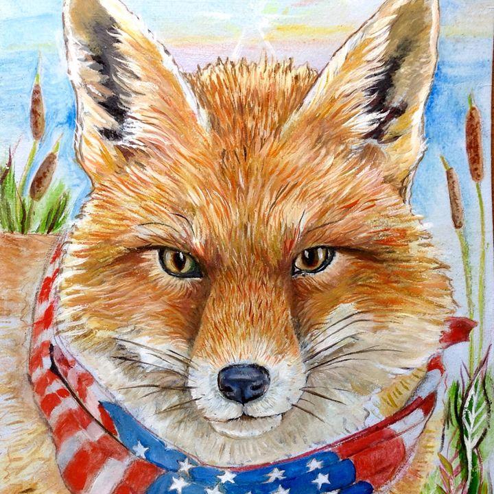 American Fox - Sweet Melissa's Creations