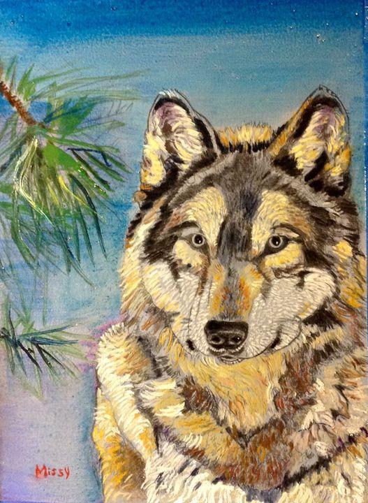 Wolfie - Sweet Melissa's Creations