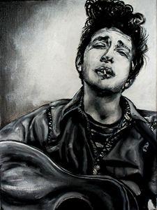 Young Bob Dylan