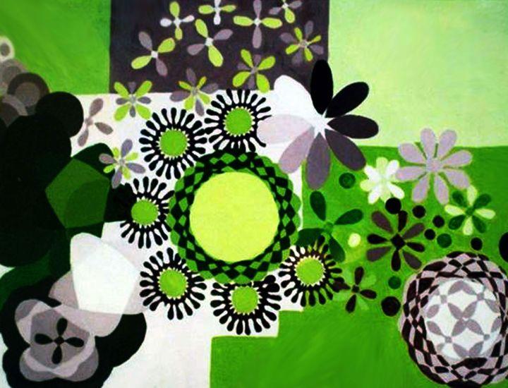 Abstract Garden - Lady Kane Designs