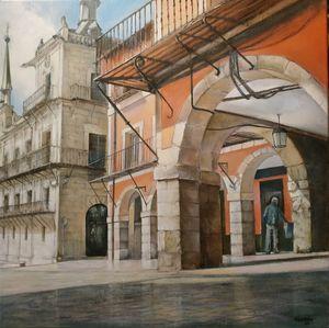 Plaza Mayor-León - tomascastano