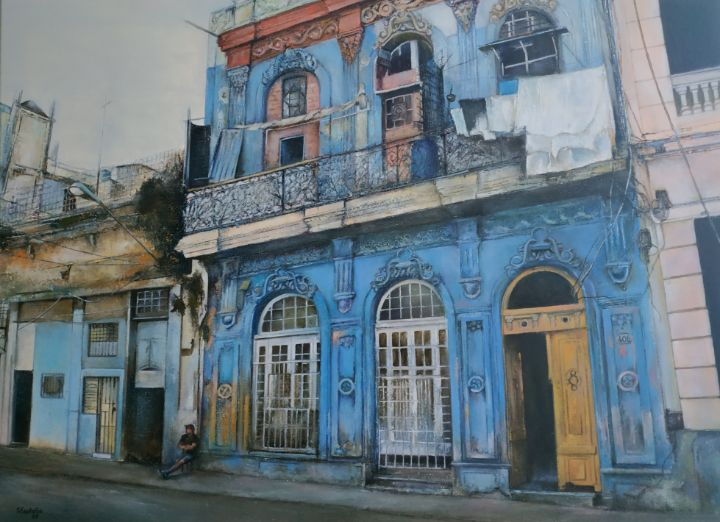 La casa azul- Old Havana - tomascastano