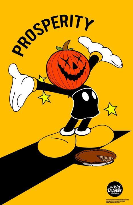 New The Big October Prosperity print - The Big October