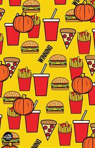 The Food Print ( Yellow )