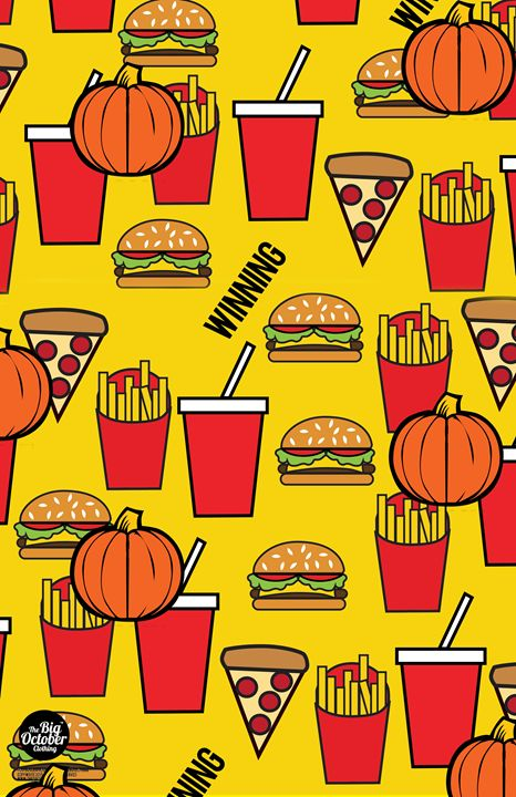 The Food Print ( Yellow ) - The Big October