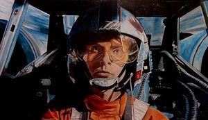 Luke Skywalker in X-wing