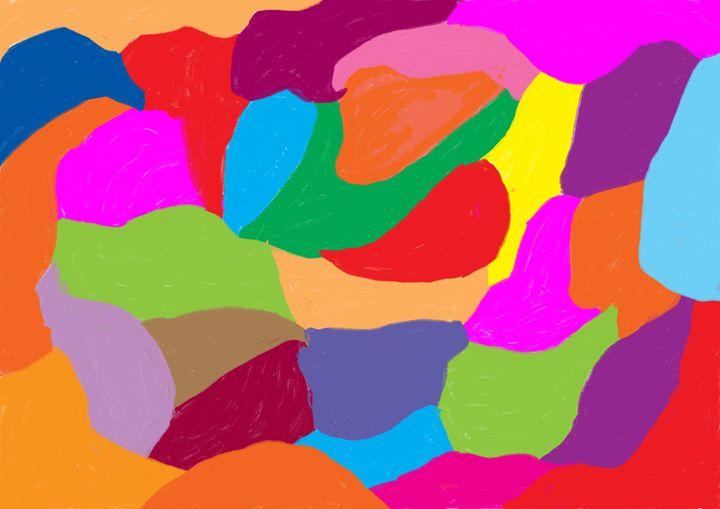 Map of my world - Margaret Art