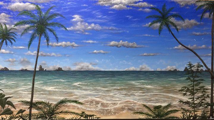 The beach - Brando