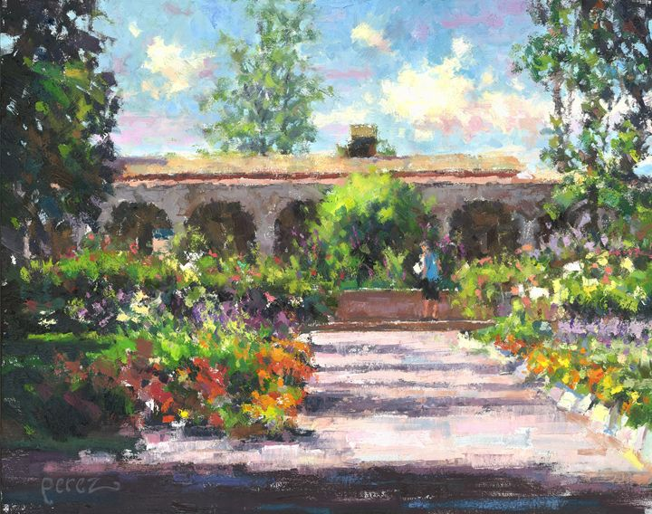 San Juan Capistrano - Fern Lawrence Perez Impressionist Art