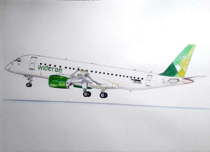 Wideroe Embraer - Pramod sharma
