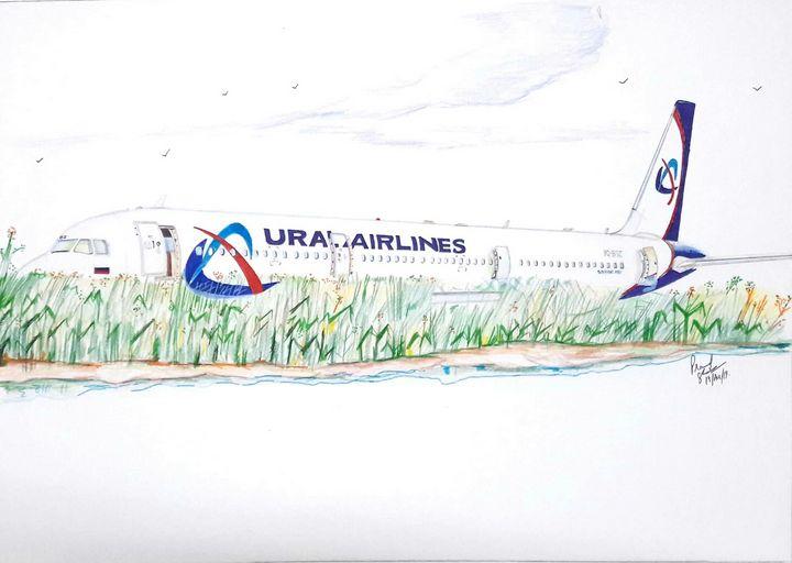 Ural Airlines A321 - Pramod sharma