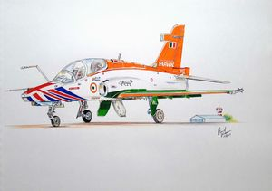 Advance Hawk - Indian Air Force
