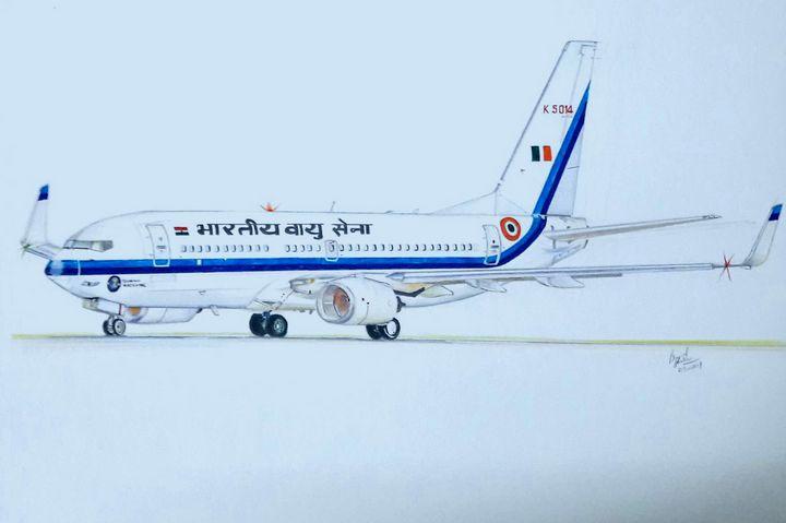 Indian Air Force 737-700 BBJ - Pramod sharma