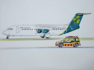 Aer Lingus Avro - New Livery