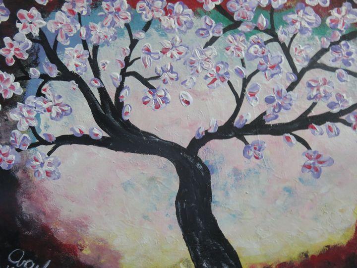 Cherry Blossom - LindArt  Studio