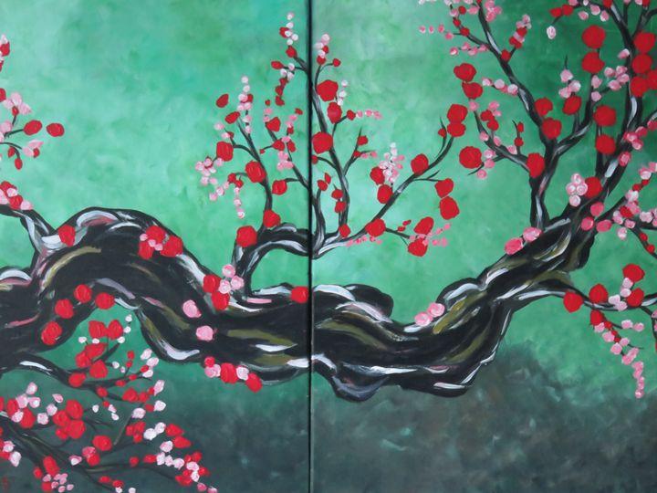 Cherry tree - LindArt  Studio