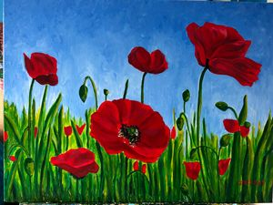 Poppy Love - LindArt  Studio