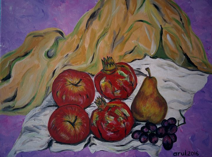 Still life-Fruits - LindArt  Studio