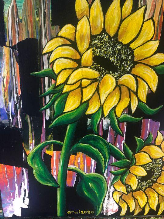 Sunflowers - LindArt  Studio