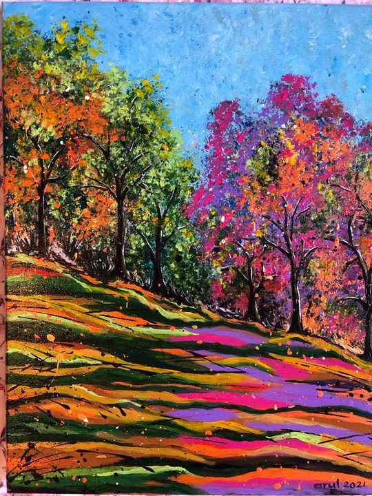 Blooming autumn - LindArt  Studio