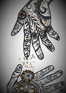 Hands with Filter