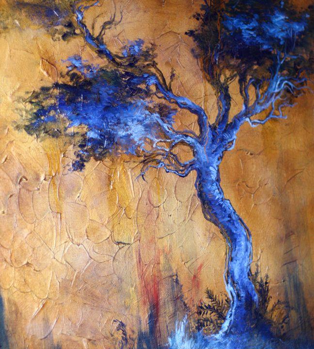 Blue tree - Katarina Makarova
