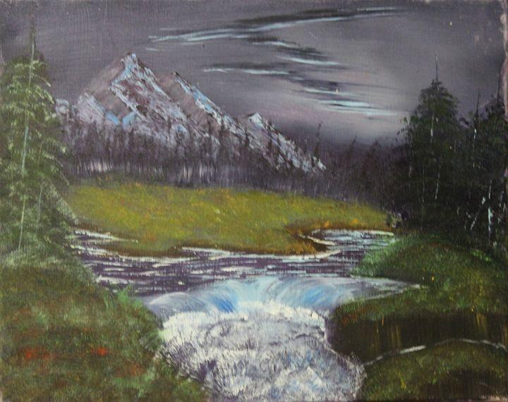 purple mountains - Kylei Wolsey