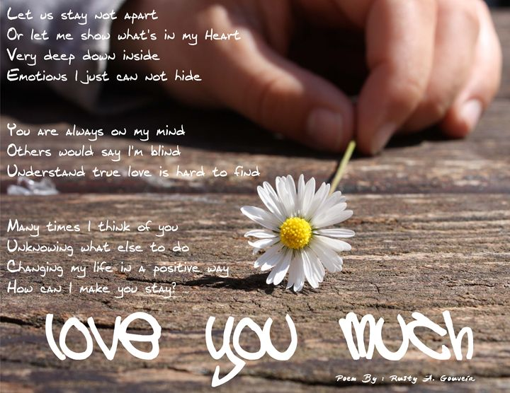 Love you much - Rusty A. Gouveia