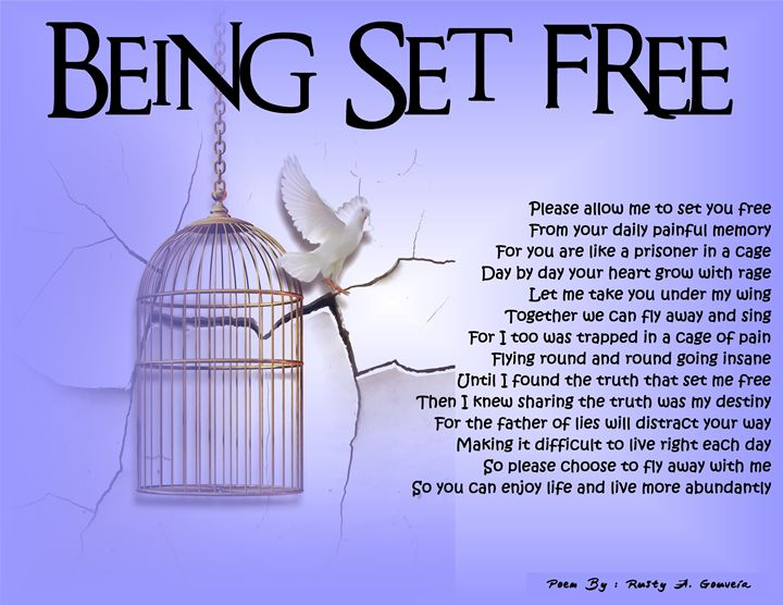 Being Set Free - Rusty A. Gouveia