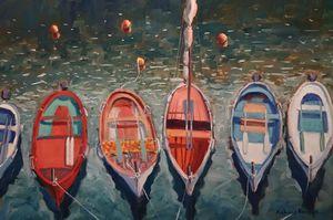 Coloured Boats
