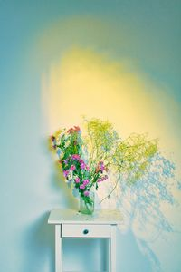 withered bouquet of flowers