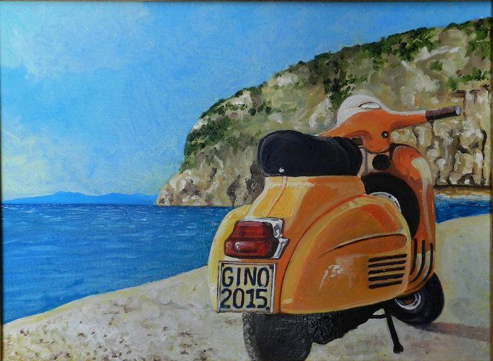 Vintage Vespa - Ginos'Art - Generoso Napoliello