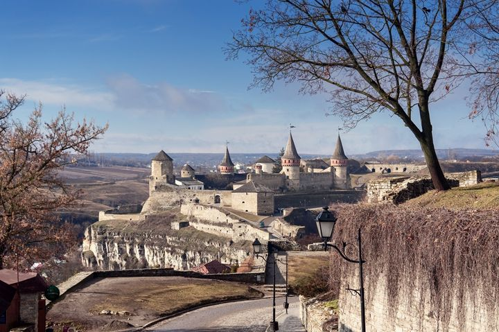 view on Kamenetz-Podolsky fortress a - The most
