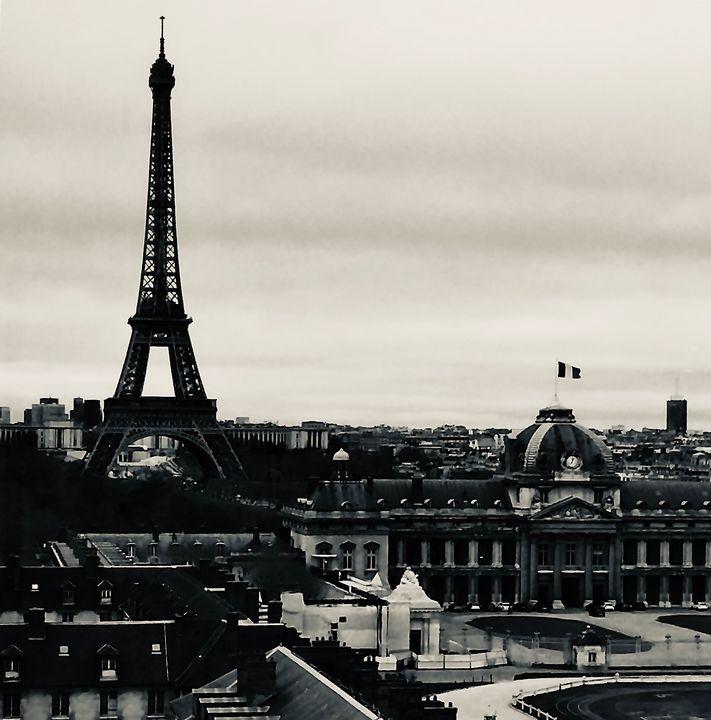 Eiffel Tower - Ricardo Trotti Art