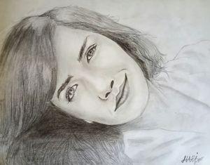 Emma Watson potrait graphite