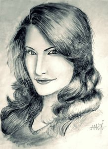 Potrait of Nargis Fakhri