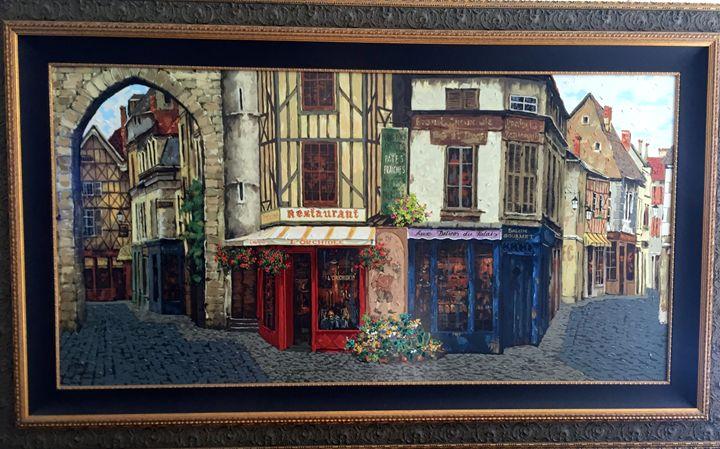 """""""Salon De The"""" - Artful Dodger Gallery"""