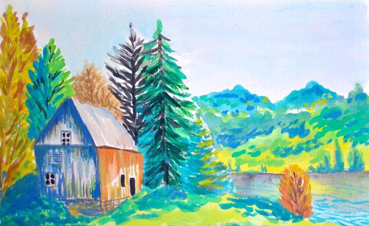 Cabin in the mountains - Cristina Vivi