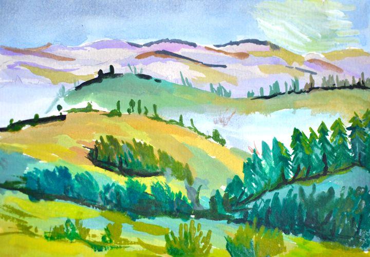 Soft hills - Cristina Vivi