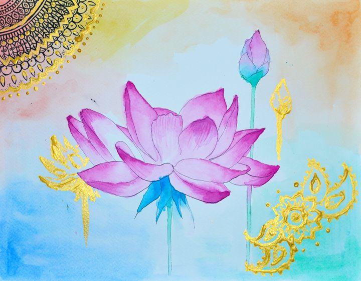 Lotus Flower - Cristina Vivi